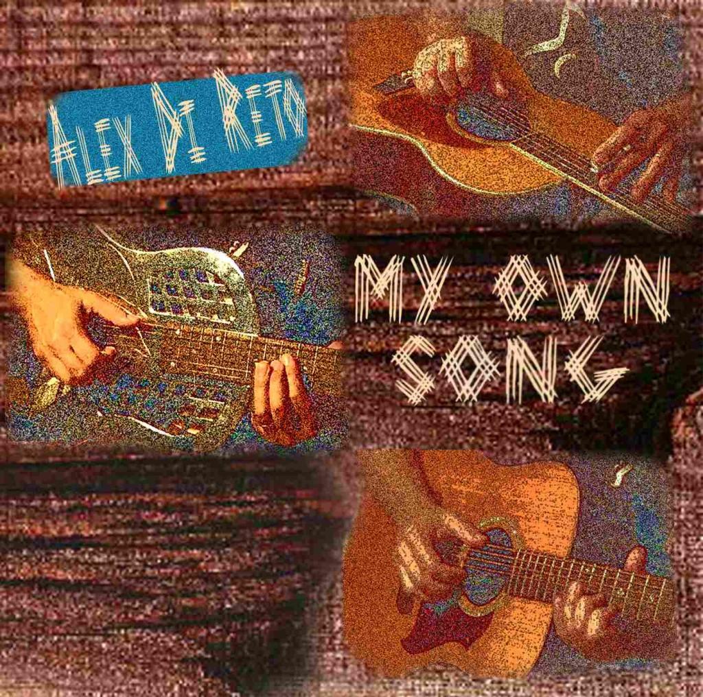 """Registrazione cd """"My Own Song"""" - Alex Di Reto"""